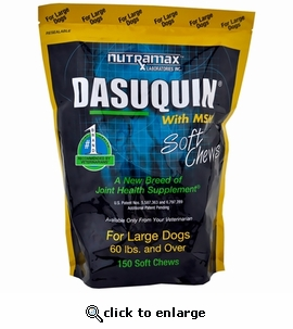 dasuquin with msm for large dogs 150 soft chews. Black Bedroom Furniture Sets. Home Design Ideas