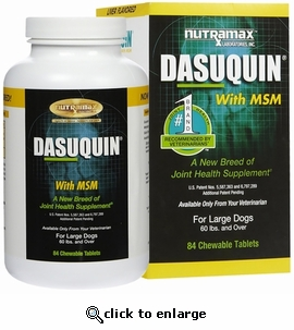 dasuquin with msm for large dogs 84 tabs. Black Bedroom Furniture Sets. Home Design Ideas