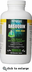 Dasuquin with MSM for Small and Medium Dogs (150 Tabs)