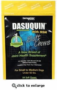 Dasuquin with MSM for Small and Medium Dogs (84 Soft Chews)