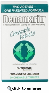 Denamarin 225 mg for Dogs 30 Chewable Tablets