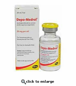 Depo-Medrol Injectable 20mg/mL 20 mL bottle