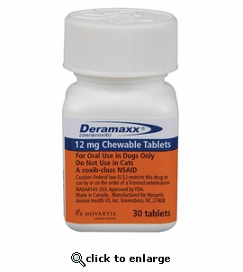 Deramaxx 12mg 90 Count
