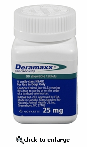 Deramaxx 25mg 60 Count