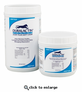 Duralactin K9 Joint Plus Soft Chews 120 ct