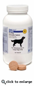 FA Plus Chewable Tablets 60 Count Large