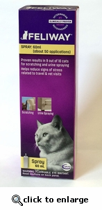 Feliway Behavior Modifier Spray 60 ml