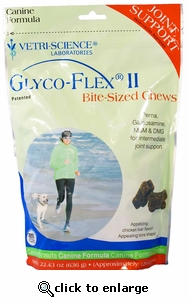 Glyco-Flex II Canine Soft Chews 120 ct