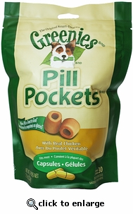Greenies Pill Pockets Chicken (7.9 oz) 30 ct