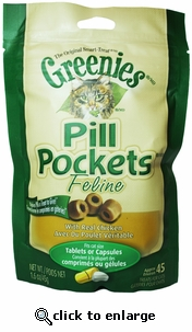 Greenies Pill Pockets For Cats Chicken (1.6 oz) 45 ct