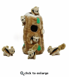 Hide-A-Squirrel Puzzle Toy for Dogs Ginormous