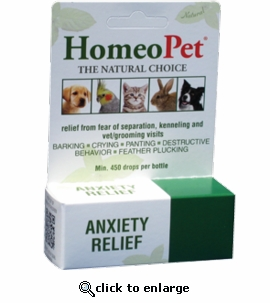 HomeoPet Anxiety Relief Natural Remedy 15mL