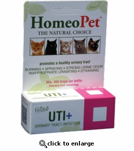 HomeoPet Feline Urinary Tract Infection Plus 15mL