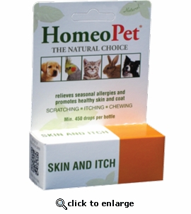 HomeoPet Skin and Itch 15mL