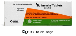 Incurin 1 mg (estriol) 30 Tablets