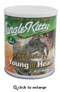 Jungle Kitty Young at Heart 9.6oz