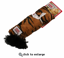 Kong Kickeroo Tiger Pattern Catnip Toy
