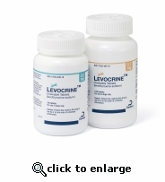 Levocrine 0.1 mg per chewable tablet