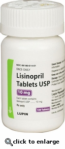 Lisinopril 10 mg 100 ct