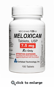 Meloxicam 7.5mg 100ct