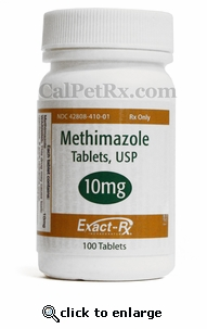 Methimazole (Generic Tapazole) 10mg 100 Count