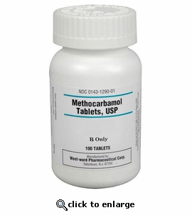 Methocarbamol 750mg per tablet