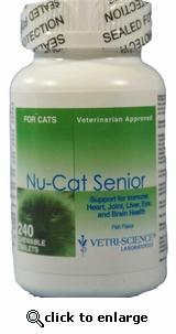 Nu-Cat Senior 240 Tablet