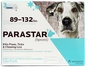 Parastar for Dogs 89-132 lbs 3 Month