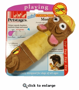 Petstages Stuffing Free Monkey