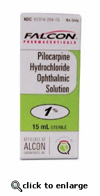 Pilocarpine Ophthalmic Solution 1% 15mL Solution