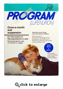 Program Green for cats 11-20 lbs (6 month)