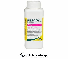 Rimadyl 75mg 180 chewables