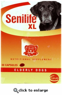 Senilife XL for Dogs (50-100lbs) 30ct Capsules