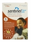Sentinel Red 6 MONTH for Dogs and Puppies 2-10 lbs