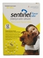 Sentinel Yellow 12 MONTH for Dogs and Puppies 26-50lbs