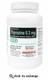 Thyrozine 0.7mg per tablet