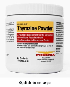Thyrozine Powder (453.6g) 1lb