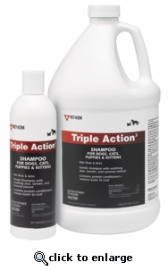 Triple Action Flea and Tick Shampoo Gallon