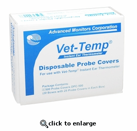 Vet Temp Disposable Probe Covers