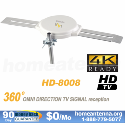 Top Rated 4K Omnidirectional TV Antenna OmniPro HD-8008