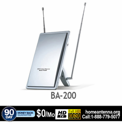 Refurbished BA200 Amplified Indoor HDTV VHF/UHF/FM Antenna
