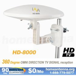 Refurbished Omnidirectional TV Antenna HD-8000 | Enjoy Same Quality and Warranty. Get Best Value!