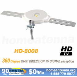 Refurbished Omnidirectional TV Antenna HD-8008 | Enjoy Same Quality and Warranty. Get Best Value!