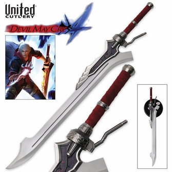 Devil May Cry Red Queen Sword of Nero - Ships Free!
