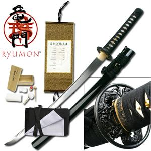 Ryumon High Carbon Steel Wakizashi  - Ships Free!
