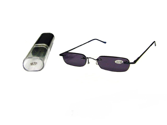 7bf81d29f9 Slim Sunglass Reader With Metal Case