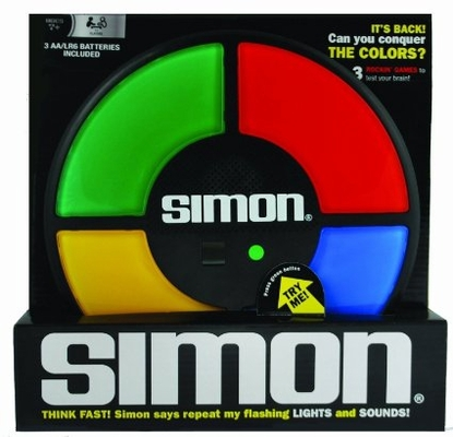 Simon The Electronic Memory game