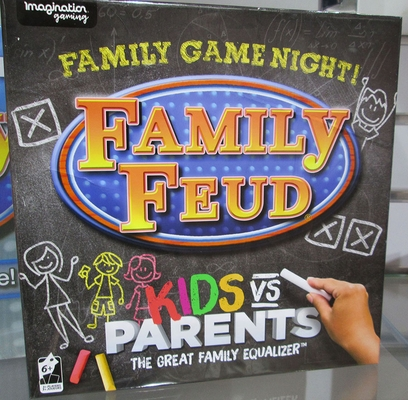 Family Feud Game Kids Vs Parents