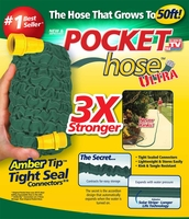 Pocket Hose Ultra 3x Stronger , 50 feet