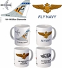 "VA-146 ""Blue Diamonts"" A-7 Corsair II Mug"